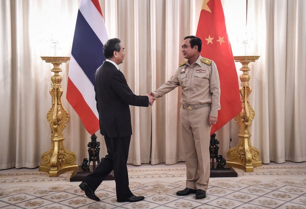Chinese Foreign Minister Wang Yi visits Thailand
